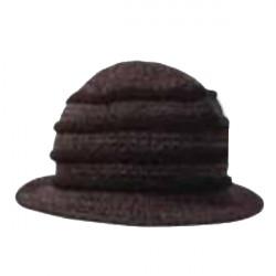 Čierny klobúk dámsky Pletex 87588