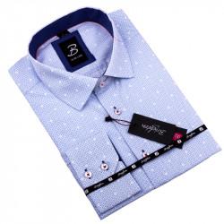 Modrá košeľa Brighton 109915