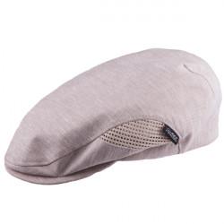 Béžová čiapka bekovka Mes 81208