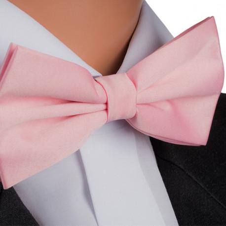Pánsky motýlik ružový Assante 90380