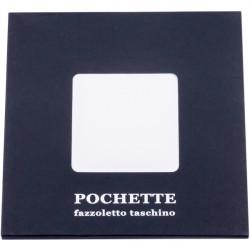 Biela vreckovka do saka Assante 90609