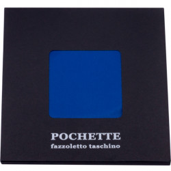 Modrá vreckovka do saka Assante 90612