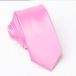Ružová kravata slim Greg 99160