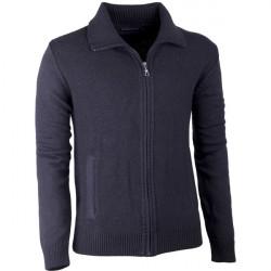 Čierny pánsky prepínací sveter Assante 51010