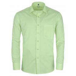 Zelená pánska košeľa s dlhým rukávom slim fit Friends and Rebels 30512