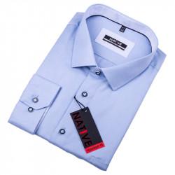 Nadmerná pánska košeľa modrá Native 120511