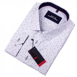 Nadmerná pánska košeľa biela Native 120512