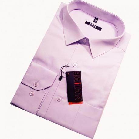 pánska košeľa s dlhým rukávom rovná Native 30318