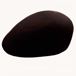 Čierna bekovka pánska z tvrdenej plsti 100% vlna Assante 85210
