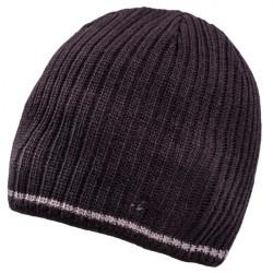 Čierna pletená pánska čiapka Assante 86003