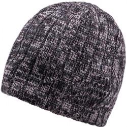 Šedá pletená pánska čiapka Assante 86006