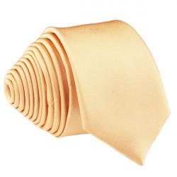 Marhuľová svetlá kravata slim fit Romendik 99173