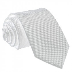 Biela kravata Greg 91000