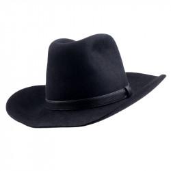 Čierny kovbojský klobúk Mes 85027