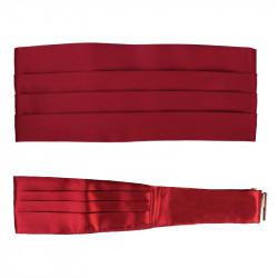 Červený frakový pás - šerpa Assante 90416