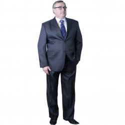 Nadměrný pánský oblek šedý 176 - 182 cm fa Vorite 160640