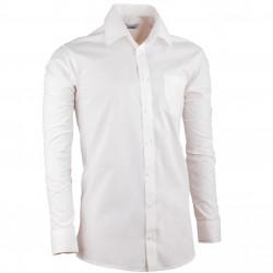 Smotanová pánska košeľa regular fit s dlhým rukávom Aramgad 30281