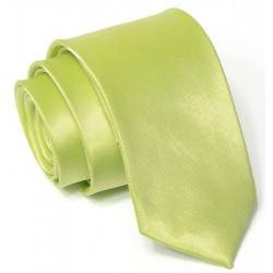 Zelená svadobná kravata slim Greg 99192