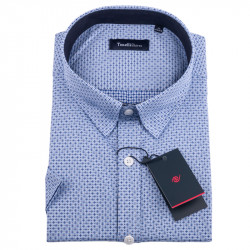 Bielomodrá košeľa Tonelli 110840