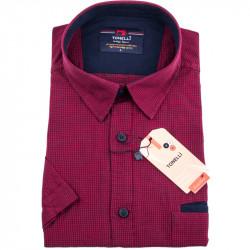 Červenočierna nadmerná košele Tonelli 110844