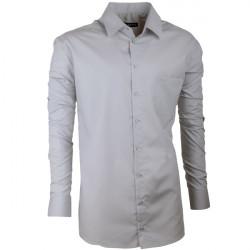 Pánska košeľa Assante slim fit šedá 30171