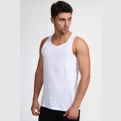 Biely pánsky nátelník 100% bavlna Vasil Assante 50001