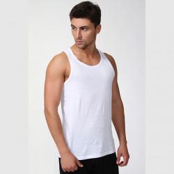 Nadmerný biely pánsky nátelník Vasil Assante 50002