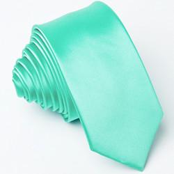 Slim fit zelená kravata Greg 99148