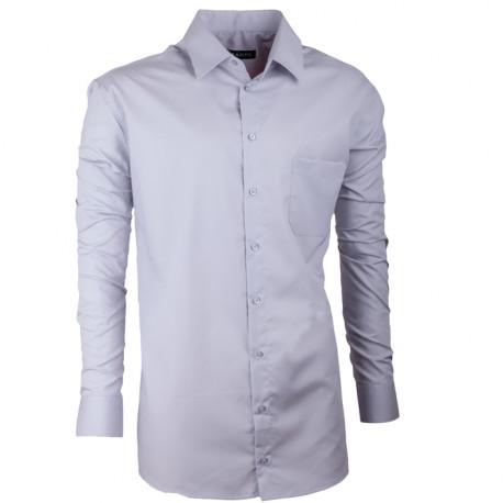 Pánska košeľa Assante regular fit šedá 30172
