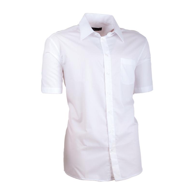 c22d6d2178c3 Biela pánska košeľa slim fit 100% bavlna non iron Assante 40006