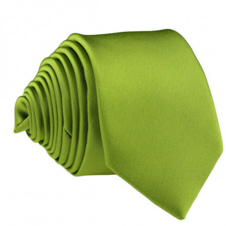 Zelená slim kravata Greg 99150